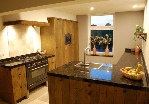 Keuken landelijk robuust