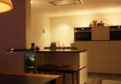 Keuken strak en tijdloos